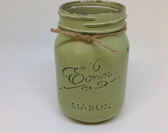 1 Vintage style Mason jar