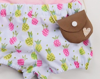 Pineapple Bloomers | Baby Bloomers, Toddler Bloomers