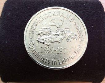 Duckhams Oil 1977 Queen Elizabeth Silver Jubilee Coin