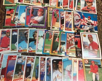 50 St. Louis Cardinals Baseball Cards
