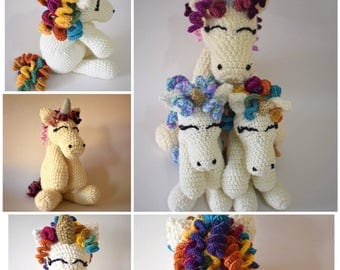Personalised stuffed animal custom request , 50cm crochet plush animal with names and dates on feet baby toy handmade bespoke gift present