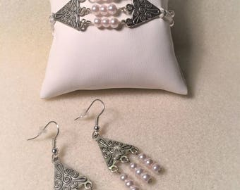 """Set """"White and silver"""""""