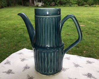 Blue Vintage Sadler Coffee Pot