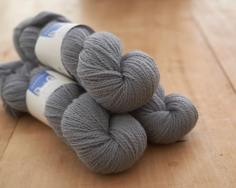 4 ply Border Leicester yarn in Wainstones