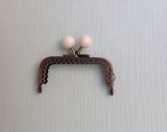 Metal frame for wallet, glasses, balls, metal frame clasp case