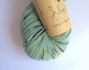 Island - Skein of yarn organic Merino hand dyed