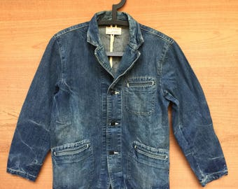 Spellbound Denim Blazer Jacket