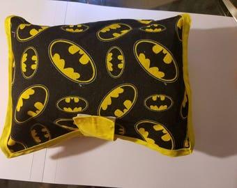 Batman diaper and wipe pouch