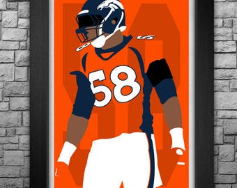 VON MILLER minimalism style limited edition art print. Choose from 3 sizes!