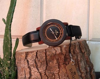 Zeus Wood Watch Men
