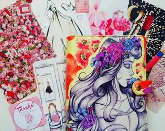Princess planner a5 binder cover