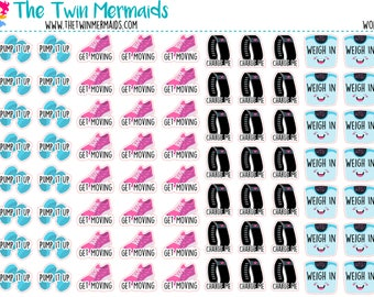 Workout Icons Planner Stickers