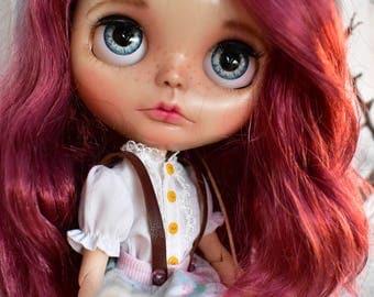 OOAK Blythe doll, Layla Custom art blythe doll by janasOOAKblytheDolls, dolls,