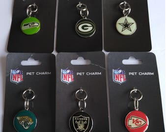 NFL Dog Pet ID tags Engraved