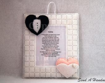 Wedding Gift - Poem Frame