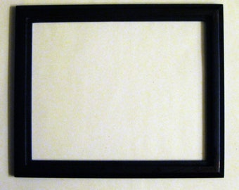 Vintage Black Wood Frame