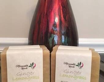 Ginger Lemongrass Neem Soap
