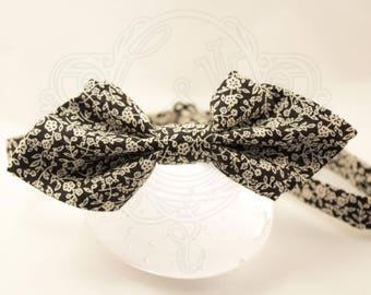 Liberty black and white bowtie