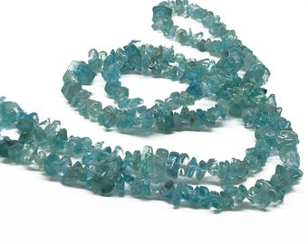 1Full Strand 36inches Apatite Gemstone Beads,Wholesale Apatite Chip Stone .