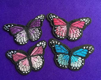 Butterfly patch / butterfly iron on patches