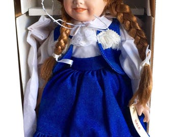 Dynasty Doll Collection Dale Vintage Porcelain Doll