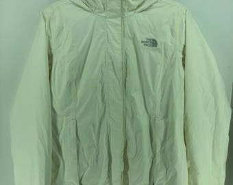 Vintage THE NORTH FACE Jacket Mens Medium North Face Ski Wear Colour Jacket Hoodie North Face 90s Skiing Hooded Jacket Bomber Size M #A887