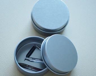 Round Nib Tin with lid