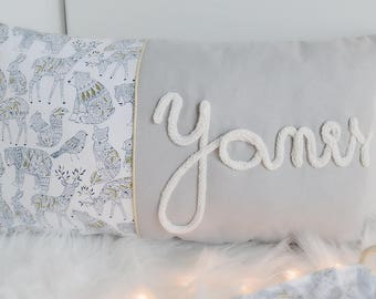 Personalized pillow cotton wool