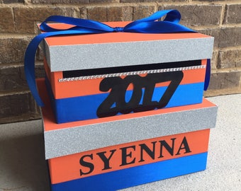 Graduation Card Box, College Graduation Card Holder