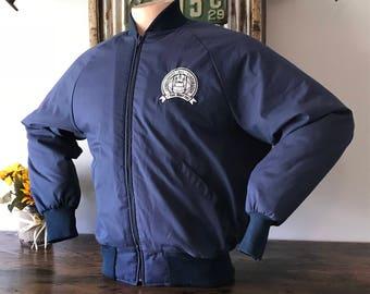 Consolidated Rail Corporation Men's Baseball Jacket - Size Large