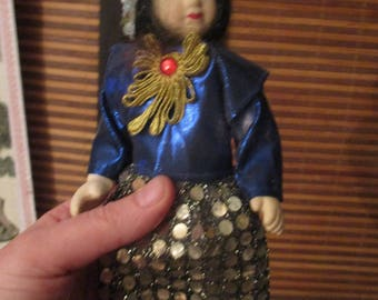 Dolls of the World  Doll Thailand Costume Porcelain  Doll