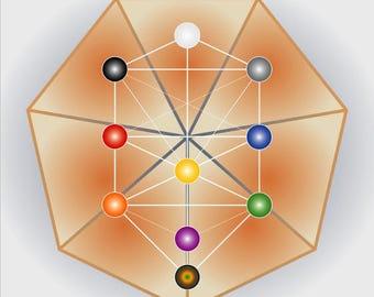 Crystal grid - B