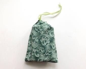 Green wave tarot bag, super awesome bag!