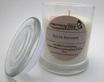 Soy Wax Jar Candle 12 oz