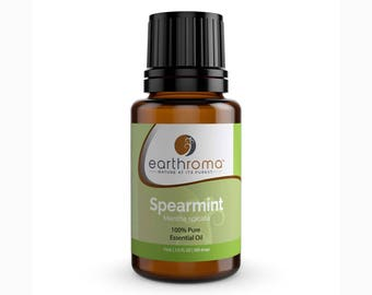 Spearmint Essential Oil | 5 mL | 15 mL | 30 mL | 100% Pure Therapeutic Grade