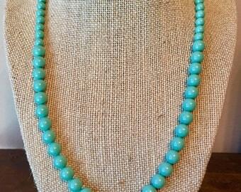 Swarovski pearl graduated necklace