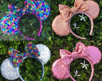 Mix & Match Sequin Mouse Ears