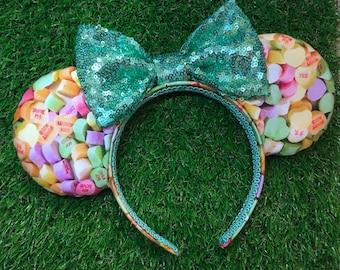 Convo Sugar Heart Mouse Ears