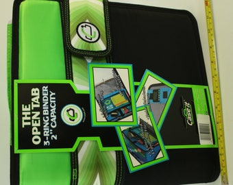 Green Coupon Binder with Accessories
