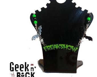 Freakshow atmosphere Zombie necklace