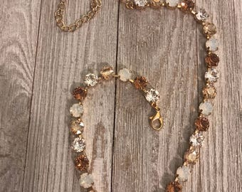 8mm Fall style necklace