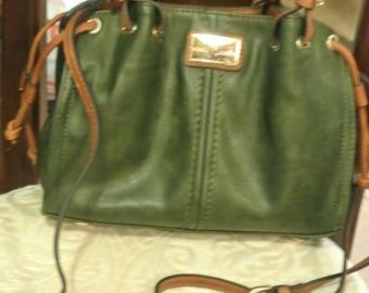 A cute Forest Green Handbag