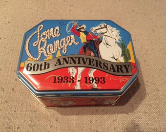 Vintage Camco USA Lone Ranger 60th Anniversary Collector's Pocket Knife with Tin