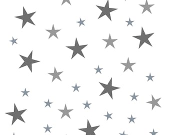 Multi Size Star Wall Decals~ Star Wall Stickers~ Star Decor~ Nursery Decor ~ Nursery Wall Stickers ~ Wall Stickers ~ Wall Decals Nursery ~