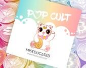Maneki Neko Ethereum Cryptocurrency Kitty Cat Pin [PREORDER]