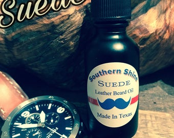"""Suede """"Leather"""" Beard Oil"""