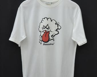 PHENOMENON Shirt Vintage 90's Phenomenon Made In Japan Tee T Shirt Size L