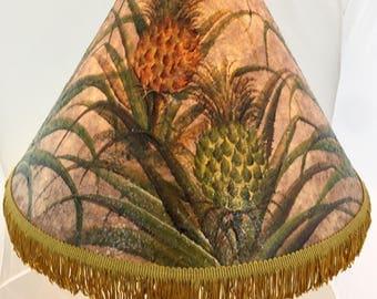 Hawaiian Tropical Hand painted lampshade
