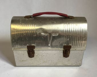 Tin Thermos Vintage Lunchpale