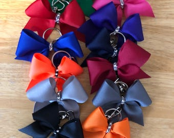 One colored Keychain Bows